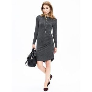 Banana Republic Shirred Knit Dress - Size Small
